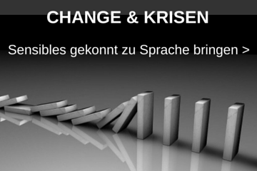 Thema Change & Krisenkommunikation