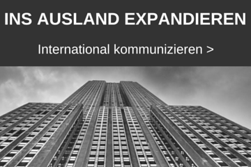 Thema international kommunizieren