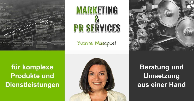 Marketing & PR Services Yvonne Masopust