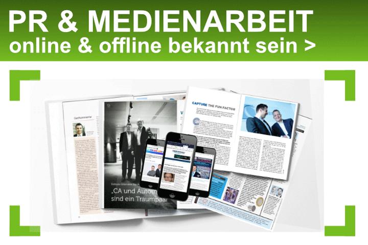 PR & Medienarbeit