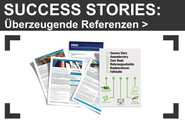 Success Stories erstellen